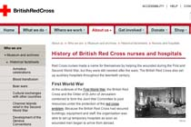 History of British Red Cross nurses and hospitals
