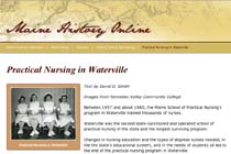 Maine History Online: Practical Nursing in Waterville