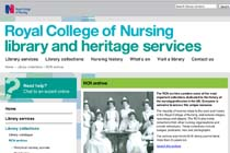 Royal College of Nursing Library and Heritage Services