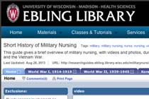 Short History of Military Nursing