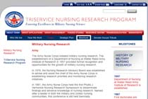Triservice Nursing Research Program: Military Nursing Research