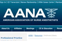 AANA Archives-Library