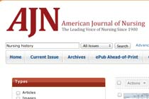 American Journal of Nursing: Nursing History