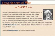 Experiences of War: The Nurse's story