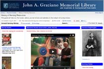 John A. Graziano Memorial Library History of Nursing Resources