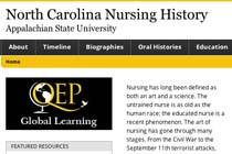 North Carolina Nursing History