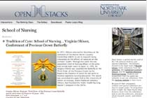 North Park University, Chicago, Open Stacks: School of Nursing
