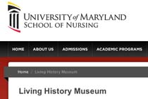 University of Maryland School of Nursing Living History Museum